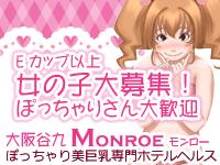 谷九 ホテルヘルス 大阪谷九【美巨乳専門】ホテルヘルス「Monroe」