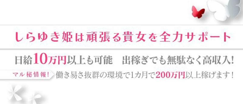 香川高松・城東町ソープランドしらゆき姫